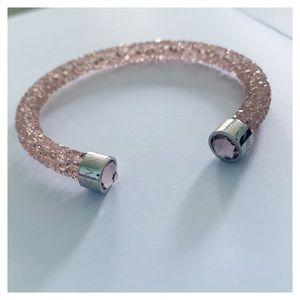 Swarovski Crystaldust Pink Bracelet